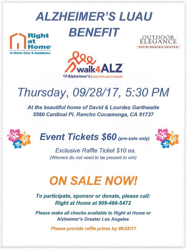 Alzheimers Charity Fundraiser